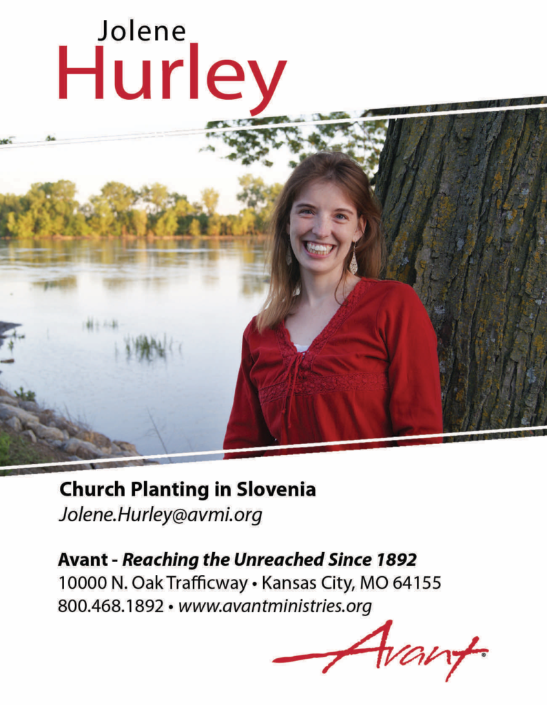 Jolene Hurley Prayer Card